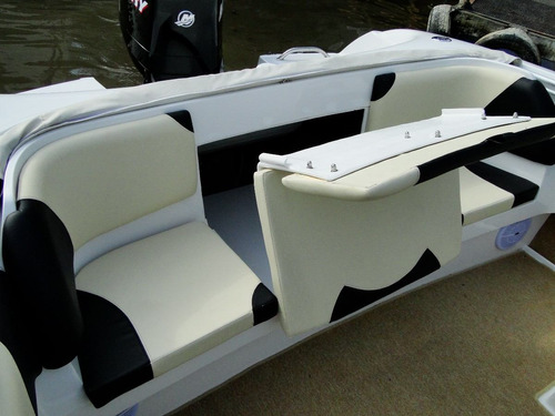 lancha amarinta 535 con evinrude 115 hp 2t 2017 nueva 0 hs