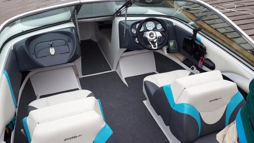 lancha amarinta 535 con evinrude 130 hp 2t 2018 nueva 0 hs