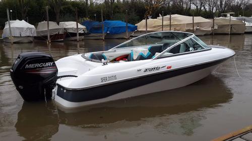 lancha amarinta 535 con mercury 115 ct hp 4t 2017 nueva 0 hs