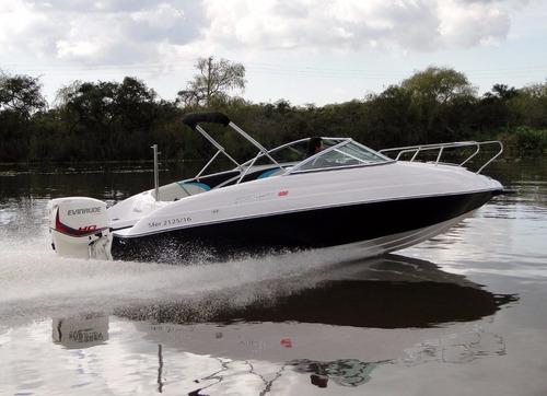 lancha amarinta 620 cuddy con mercury 115 hp 2017 nueva 0 hs