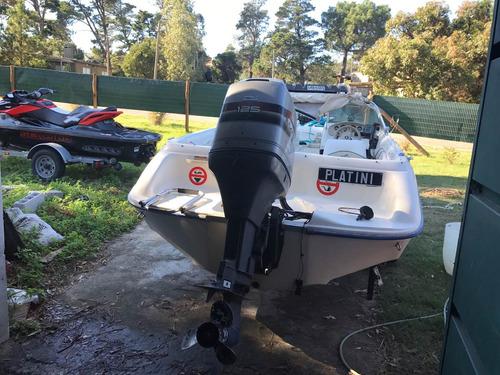 lancha americana sea ray con 125 hp excelente