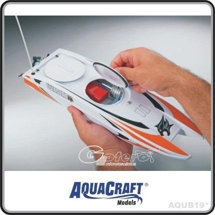 lancha aquacraft radiocontrol wild cat electr control remoto