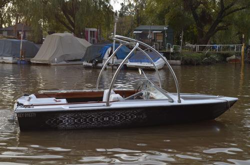 lancha aquamatic torre de wake wakeboard ford 221 sprint