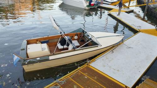 lancha aquaski 140 hp impecable