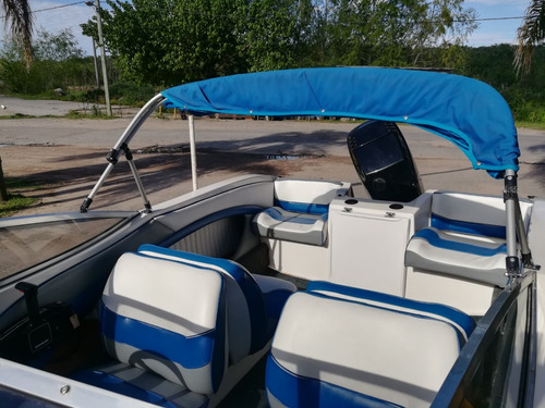 lancha arco iris 551 con mercury 125 hp impecable