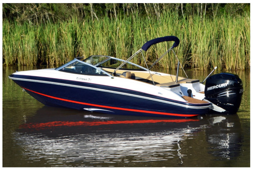 lancha arco iris eclipse 21 sport + mariner 150 hp 4t +
