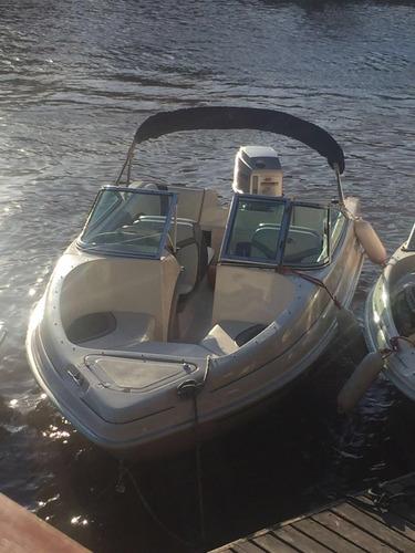 lancha arco iris fishing 4,9  año 2002 mariner 60hp