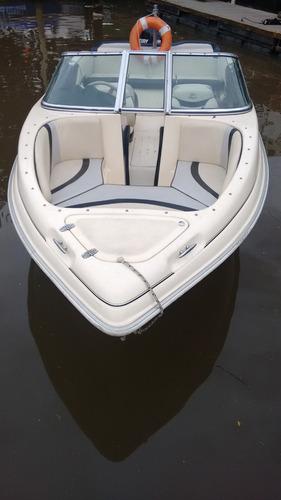 lancha arco iris fishing 551 xp con motor mercury 115 hp 4 t