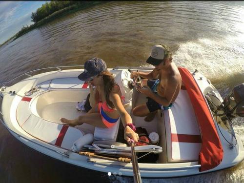 lancha arco iris fishing open 4.75 - solo casco