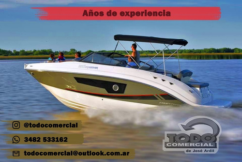 lancha arcoiris eclipse 20 mercury 150 hp 4 t nueva