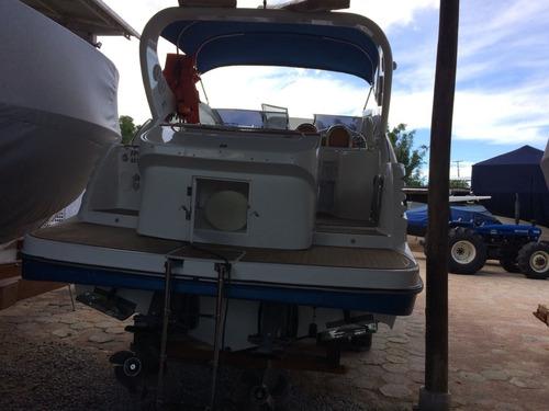 lancha armada 300 parelha volvo gas 220hp conj 2014