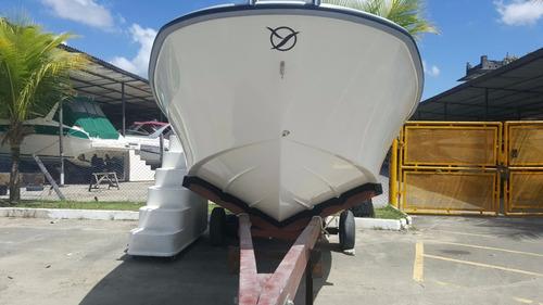 lancha atymar 23 pés (somente casco)