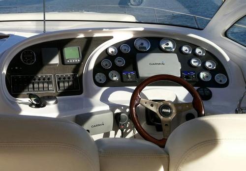 lancha axtor 480, ano 2011. d6 volvo 370hp- marina atlântica