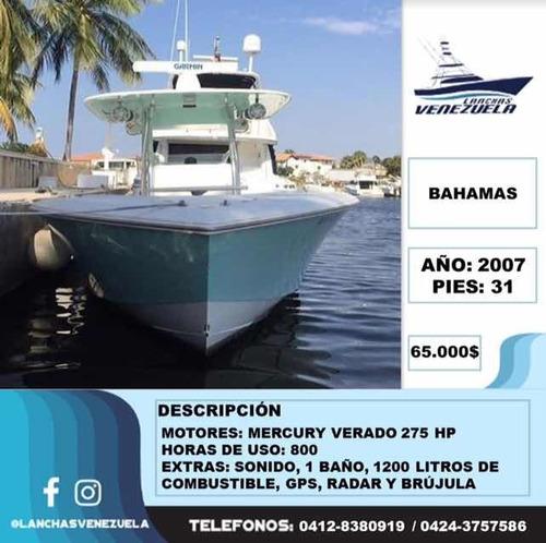 lancha bahamas 31 lv37