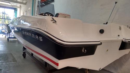 lancha bahamas  fisher  490 nuevo modelo!!!! okm