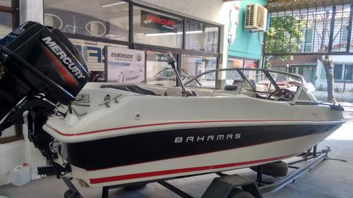 lancha bahamas open 490 sport