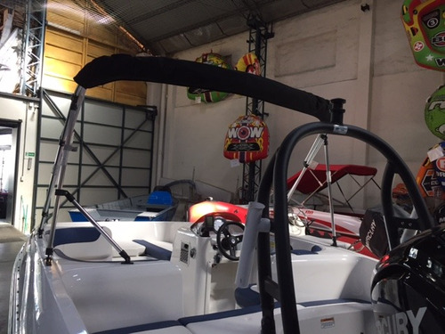 lancha bayliner 160 element mercury trailer toldilla garanti