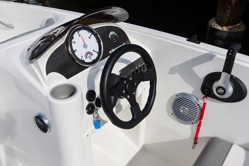 lancha bayliner 160 element motor mercury trailer toldilla