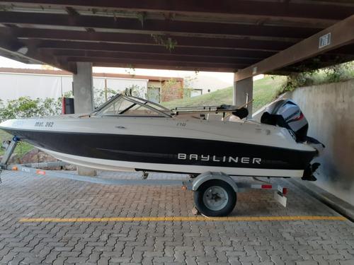 lancha bayliner 170 como nueva!!