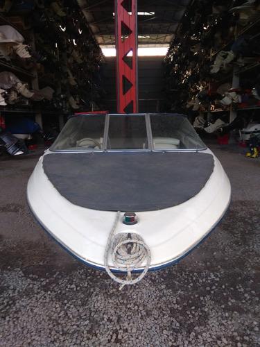 lancha bayliner 1850 c/ mercruiser 4.3 190hp - carburado