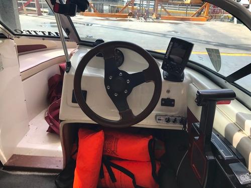 lancha bermuda elynx 2 con mariner 60 impecable equipada