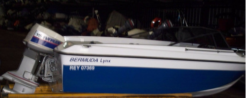 lancha bermuda lynx-exclente estado-titular