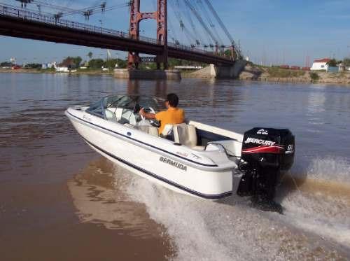 lancha bermuda sport 160 0hs sin motor 2017