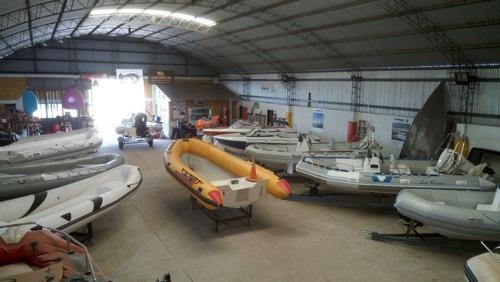 lancha bermuda sport 180 equipada 0 km  nautica del plata