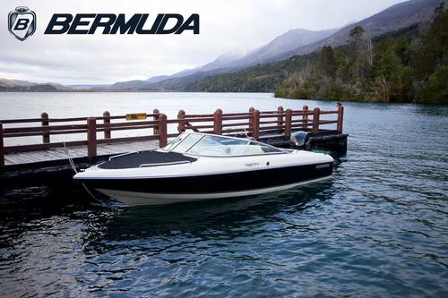 lancha bermuda twenty mercury 150hp 4t efi 2018 0hs nueva