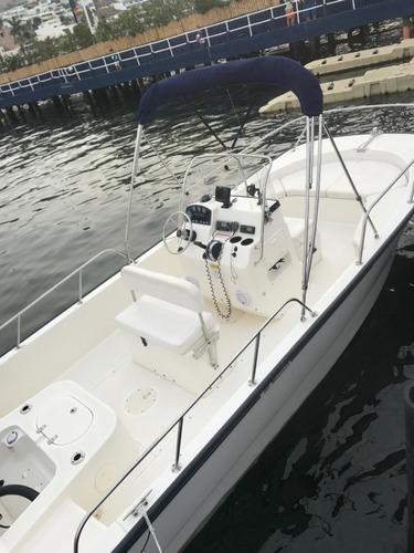 lancha boston whaler 190 montauk 2013 impecable