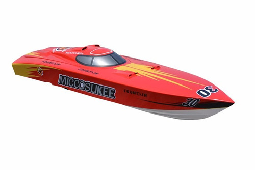 lancha bote carrera radio control g261 bencina /  fernapet