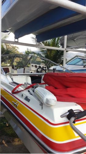 lancha bote fivres 19 pies motor evinrude 175 hp