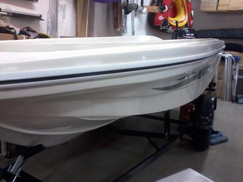 lancha bote m y e marine 430 pescador  ngp