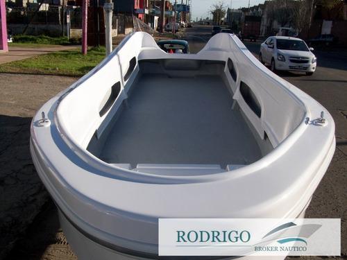 lancha bote trucker 630 financiado # $120.000 y cuotas #