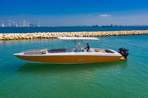 lancha bravo 38 eduardoño - 2 x 250 hp suzuki - barco - bote