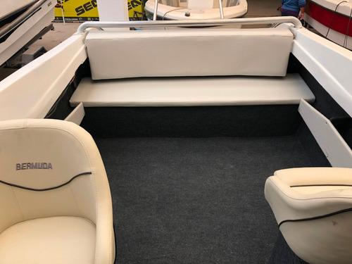 lancha cabinado cuddy tecno 600 con suzuki 115 hp