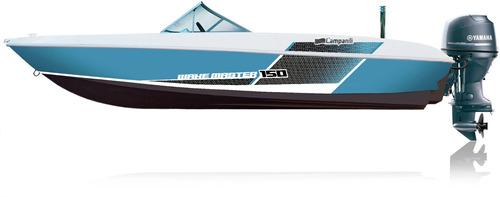 lancha campanili 150 sport open 2020 0km náutica del plata