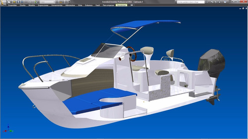 lancha campanili cabin 170 con motor yamaha 70 hp 2 tiempos