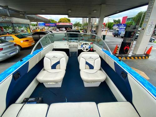 lancha campanili caravana c/ motor mercury 150 hp