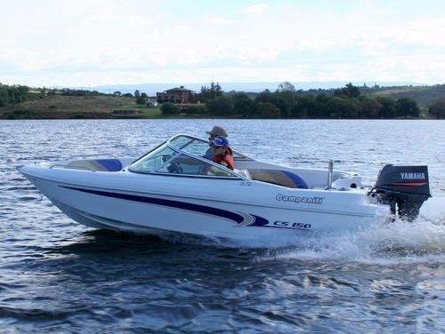 lancha campanili  cs150 + yamaha 40 hp 2t 0km