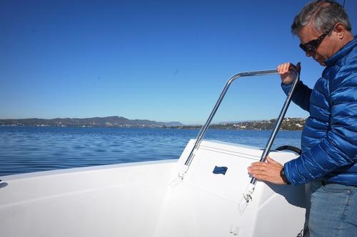 lancha campanili track master 559 ideal pescador muy amplio