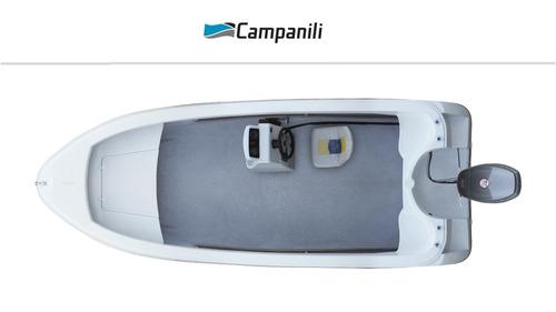 lancha campanili trucker ct-520 con yamaha 40 hp 2 tiempos