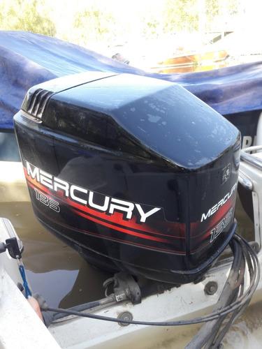 lancha canestrari open 170 con motor mercury 135hp impecable