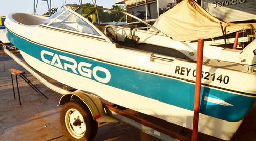 lancha cargo 520 evinrude etec 60 2012
