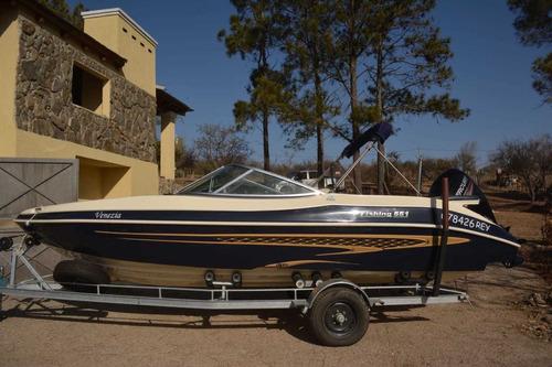 lancha casco fishing 551 motor mercury ct 115hp 4t 2016 c tr