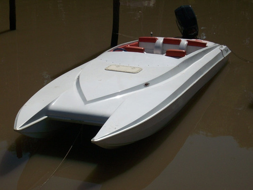 lancha  catamaran off shore frigidaire