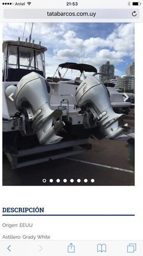 lancha catamaran pescadora grady white - tiger cat