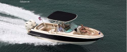 lancha chris craft calypso 26, pesca, paseo, financiamiento
