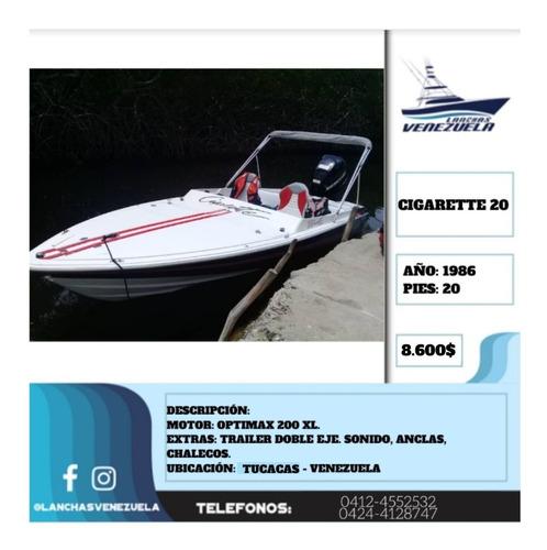 lancha cigarette 20 lv403