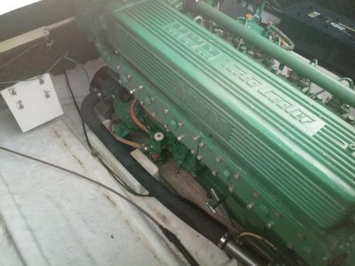 lancha cimitarra 260 mwm229 vpi 1992 275 hp